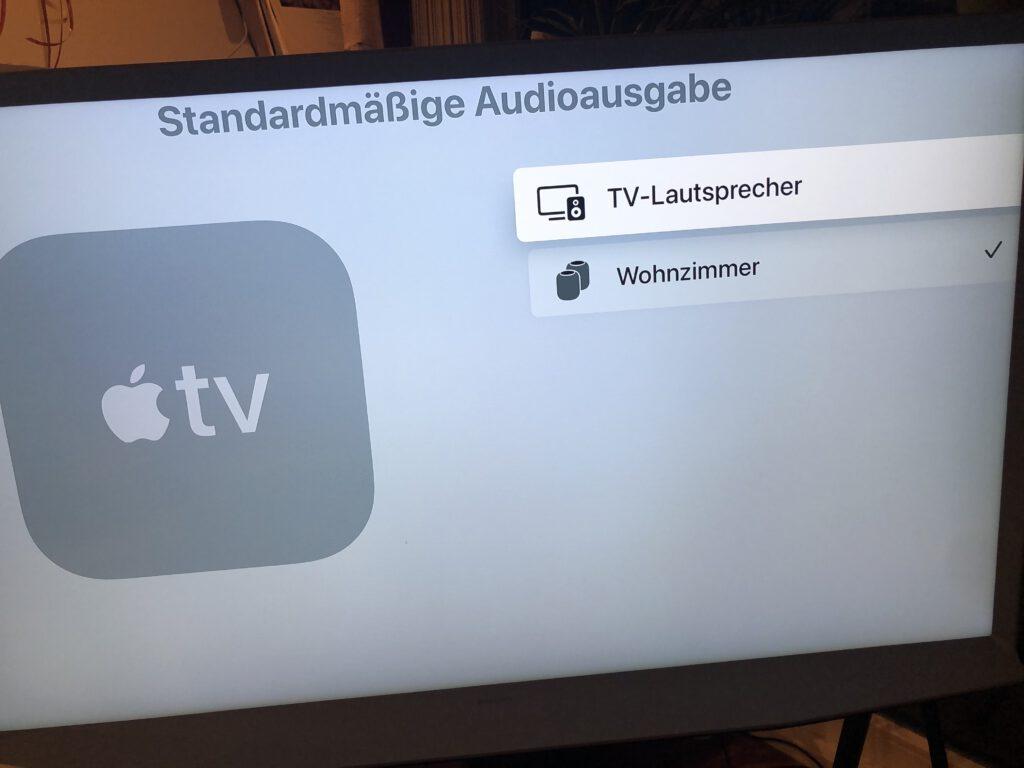 AppleTV und zwei HomePods als HomeKit Steuerzentrale